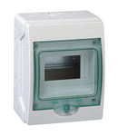 Mini-Carcasa Aparenta Kaedra - Ip 65 - 1 X 6 Module - Usa Transparenta
