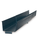 Reglare canal lateral organizator orizontal de cabluri 10 pana la 18 inch