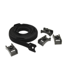 Toolless Hook and Loop Cable Managers (Qty 10)