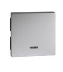Clapeta Cu Fereastra Indicator, Aluminiu, Sistem M