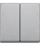 Clapeta 2-Porturi, Aluminiu, Sistem M