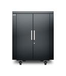 NetShelter CX 18U Secure Soundproof Server Room in a Box Enclosure - Shock Packaging - Dark Grey