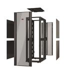 Incinta NetShelter SX 48U 600 mm latime x 1200 mm adancime cu acoperis, fara usi sau laterale negre