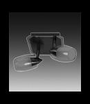 Aplica sau plafoniera Verigo 12 cu doua becuri -Brilux