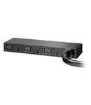 Rack PDU, Basic, 0U/1U, 220-240V, 63A, (3) C19