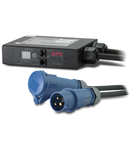 Aparat de masurat curentul pe linie, 16 A, 230 V, IEC 309-16A, 2P+G