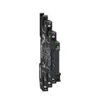 Releu Miniatura Montat Pe Soclu Cu Suruburi Cu Led Si Circuit Protectie, 24 V