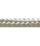Cordon flexibil 2x0.5 izolatie cu manta textila decorativa Alb perla -rola 30ml
