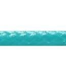Cordon flexibil 2x0.5 izolatie cu manta textila decorativa Turcoaz -rola 30ml