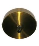 Soclu tavan-baza corp de iluminat - Auriu antic