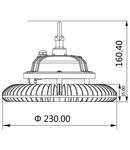 Corp de iluminat HIBAY SP 100W 6000K