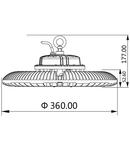 Corp de iluminat HIBAY SP 200W 6000K