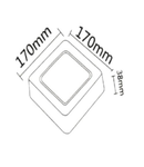 SMD-SRD 12W PANEL 6500K