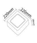 SMD-SRD 18W PANEL 6500K
