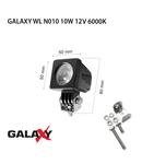 Proiector GALAXY WL N010 10W 12/24V 6000K