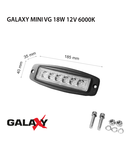 Proiector GALAXY MINI VG 18W 12/24V 6000K
