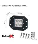 Proiector GALAXY WL VG 18W 12/24V 6000K