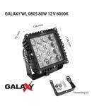 Proiector GALAXY WL 080S 12/24V 6000K