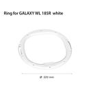 Inel pentru proiector  GALAXY WL 185R white