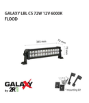 Proiector bara LED GALAXY LBL CS 72W 12/24V 6000K