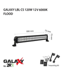 Proiector bara LED GALAXY LBL CS 120W 12/24V 6000K