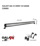 Proiector bara LED GALAXY LBL CS 300W 12/24V 6000K