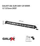 Proiector bara LED GALAXY LBL SLIM 36W 12/24V 6000K
