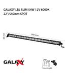 Proiector bara LED GALAXY LBL SLIM 54W 12/24V 6000K