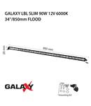 Proiector bara LED GALAXY LBL SLIM 90W 12/24V 6000K