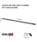 Proiector bara LED GALAXY LBL SLIM 126W 12/24V 6000K