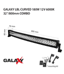 Proiector bara LED GALAXY LBL CURVED 180W 12/24V 6000K