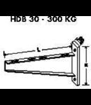 Suport perete 300kg-500mm
