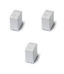 Power relay for photovoltaic inverters - 3 contacte, 50 A, ND (nPST), ≥ 5 mm intre contacte, 60 V, Protecție la fluxul de spalare cu solvenți (RT III), C.C., AgSnO2, Terminale PCB, 1,5 mm spațiu intre PCB și baza releului, Niciuna