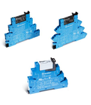 Interfața modulara - 1 contact, 6 A, C (contact comutator), 24 V, Standard, C.A. (50/60Hz)/C.C., AgNi + Au, Releu Electromecanic (EMR), terminale cu șurub, Standard