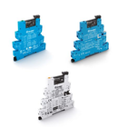 Interfața modulara - 1 contact, 6 A, C (contact comutator), 110...125 V, Standard, C.A. (50/60Hz)/C.C., AgNi, MasterINPUT, terminale cu surub, Standard