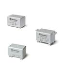 Releu de putere - 2 contacte, 30 A, ND (contact normal deschis), deschiderea contactului ≥ 1.5 mm, 110 V, Protecție la fluxul de spalare cu solvenți (RT III), C.C., AgCdO, Implantabil (PCB), Niciuna