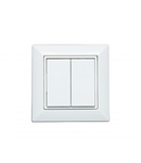 Square wireless button - 2 - 4 channels, Bluetooth BLE