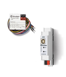 KNX's accessories - 2 IN- 2 OUT module, C.C., 30 V