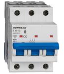 Intreruptor automat AMPARO 10kA, B 10A, 3 poli