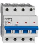 Intreruptor automat AMPARO 10kA, C 25A, 3+N