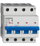 Intreruptor automat AMPARO 10kA, C 6A, 3+N