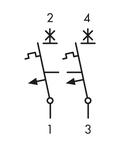 Intreruptor automat C 125A, 2 poli, 10kA