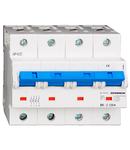 Intreruptor automat C 125A, 4 poli, 10kA