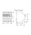 Intreruptor automat C25/3N 10kA
