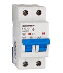 Intreruptor automat modular (MCB) AMPARO 6kA, B 13A, 2-poli