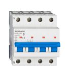 Intreruptor automat modular (MCB) AMPARO 6kA, B 13A, 3P+N