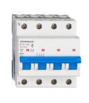 Intreruptor automat modular (MCB) AMPARO 6kA, B 16A, 3P+N