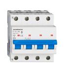 Intreruptor automat modular (MCB) AMPARO 6kA, C 10A, 3P+N