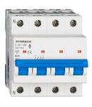 Intreruptor automat modular (MCB) AMPARO 6kA, C 20A, 3P+N