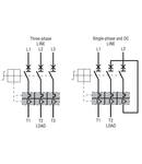 Intrerupator protectie motor, Putere de rupere 100KA AT 400V, 9...14A